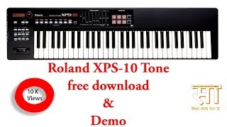 Roland XPS 10 tone free download