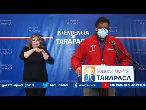 Punto de prensa 11 de julio de 2020 - Gobierno Regional de Tarapacá