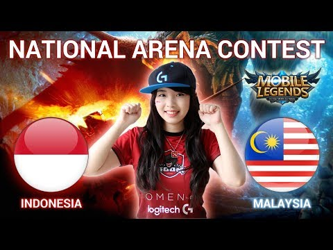 INDONESIA VS MALAYSIA - National Arena Contest Cast by Kimi Hime - 07/01/2018
