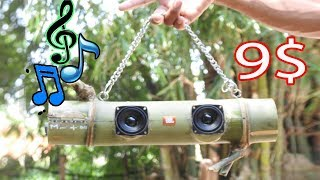 DIY Bamboo Bluetooth Speaker 9$