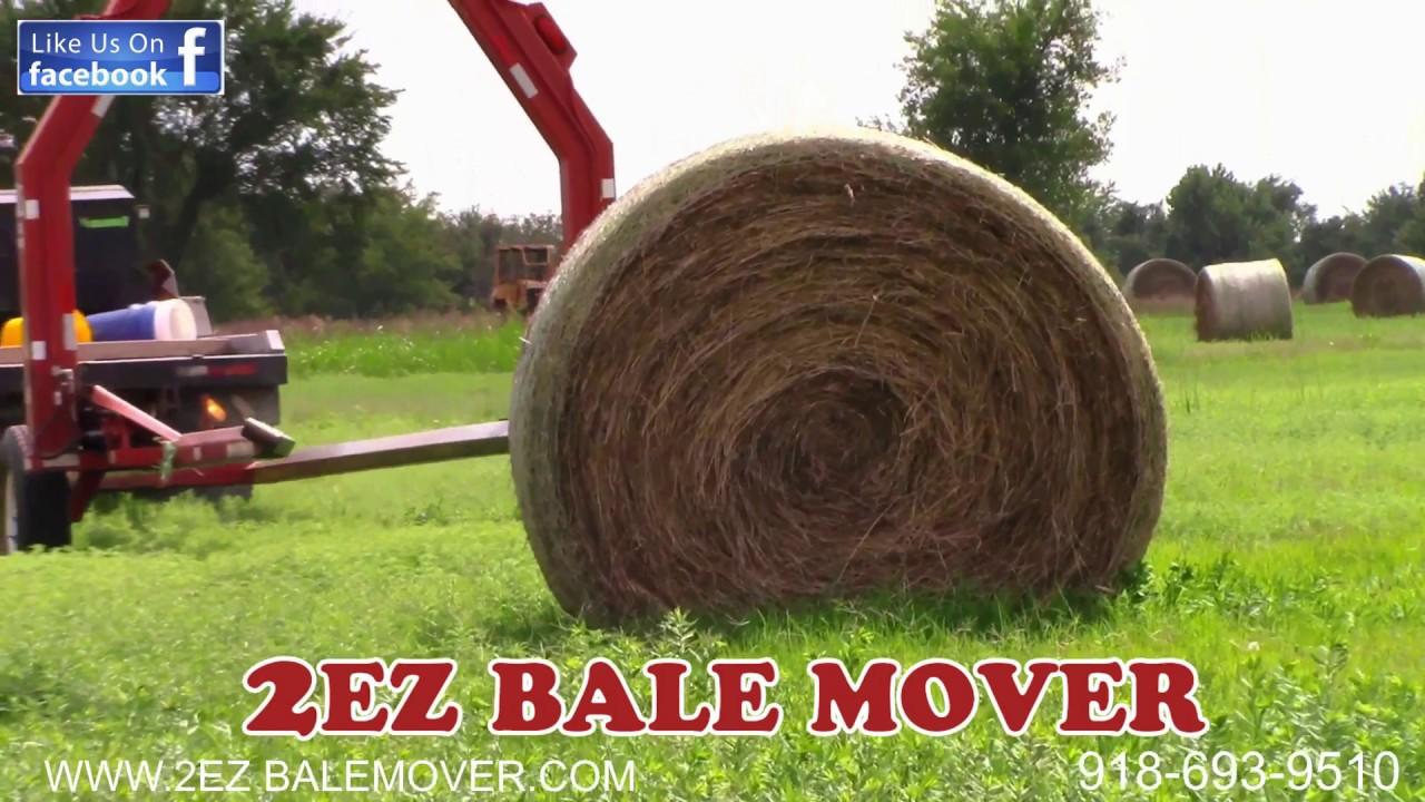 2ez Bale Mover - 2ez Bale Mover, Hay Trailer, Bale Mover
