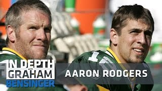 Aaron Rodgers on Brett Favre: I kept my mouth shut