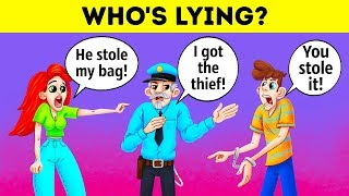 Who Is The Thief? 12 Popular Riddles To Train A Detective Mind In You