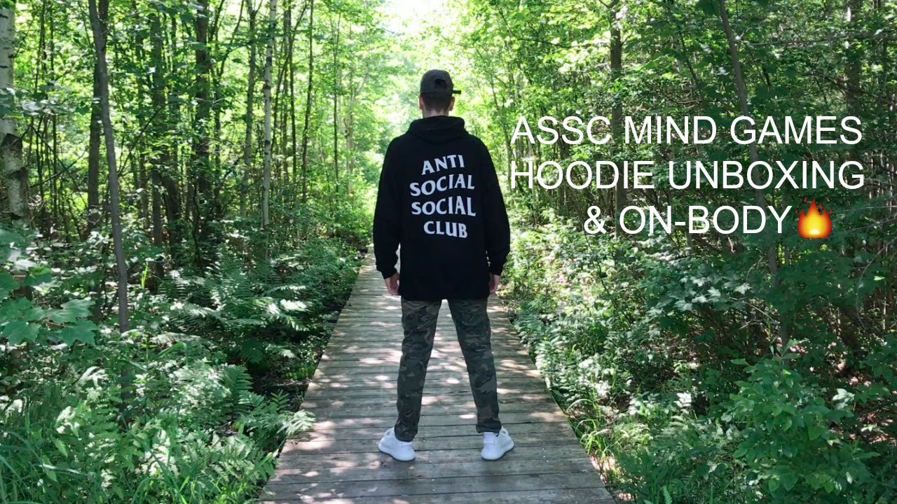 47405f2c4780 Anti Social Social Club Mind Games hoodie unboxing   on-body - YouTube