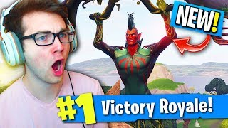 THE NEW UGLIEST SKIN IN FORTNITE... (Flytrap Skin Fortnite Gameplay)