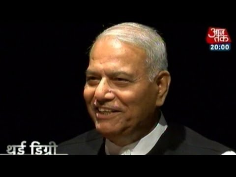 Third Degree: Yashwant Sinha