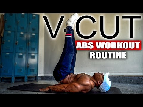 10 MINUTE V-CUT ABS WORKOUT