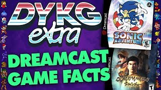 Dreamcast Games Facts - Did You Know Gaming? extra Feat. Dazz