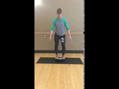 Balance Board Exercise #2: Forward / Backward Tilt