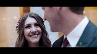 Utah State Capitol Wedding (First Look / Reveal) || Anna + Trenton