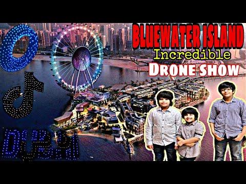 DUBAI VLOG |BLUEWATER Island |Drone show |Dubai 2021| #dubaivlogpakistani |#vlogger