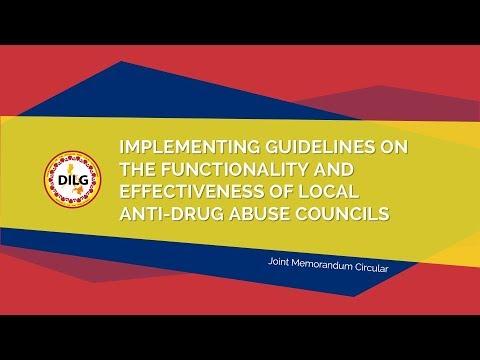 DILG Barangay Anti-Drug Abuse Council AVP