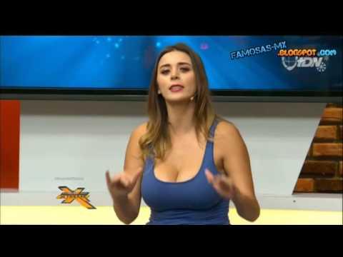 Arlene Maciel cosotas escote azul