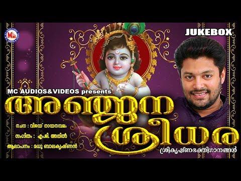 അഞ്ജനാ ശ്രീധരാ | Anjana Sreedhara | Hindu Devotional Songs Malayalam | Sree Krishna Songs Malayalam
