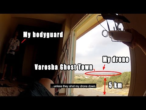 Trailer Documenting ghost town Varosha on Cyprus with a dron