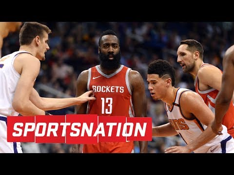 Houston Rockets vs. Phoenix Suns was more like '5-on-0 scrimmage' | SportsNation | ESPN