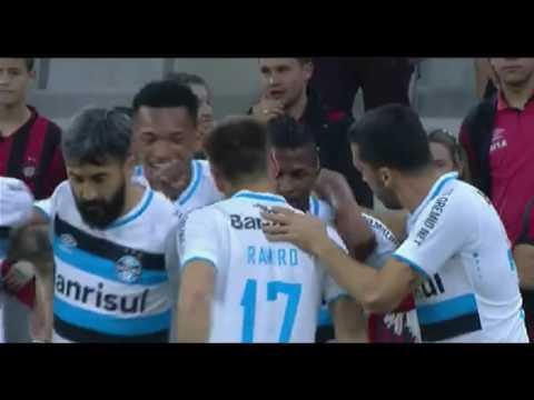 Atlético-PR 0 x 1 Grêmio-GOL-Copa do Brasil 2016