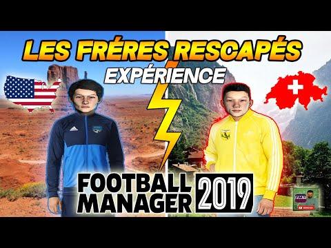 FM19 - Les Frères Rescapés - Wonderkid Expérience - Football Manager 2019