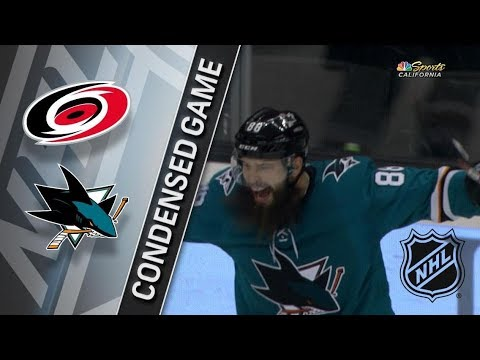 Carolina Hurricanes vs San Jose Sharks – Dec. 07, 2017 | Game Highlights | NHL 2017/18. Обзор матча