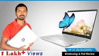 HP Laptop unboxing & Review Core i5 10th generation    15s-du1034tu   My KK Digital