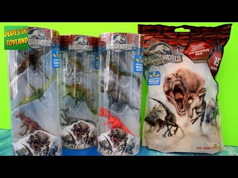 Jurassic World GIANT Blind Bags With Mini Indominus Rex, 15 Dinosaur Toys, And Dino Tubes WalMart