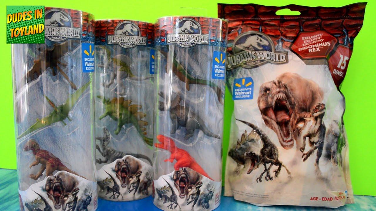 Hasbro Jurassic Park Jurassic World Bag of 15 3 Dinosaurs