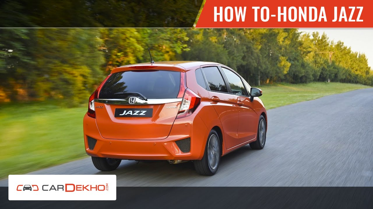Connect Bluetooth in Honda Jazz | CarDekho.com - YouTube