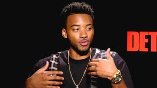 """Algee Smith and Jason Mitchell Talk About Starring in """"Detroit"""""""