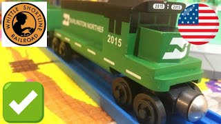 Whittle Shortline Burlington Northern with RMZ City Diorama, Playmobil Country (04142)