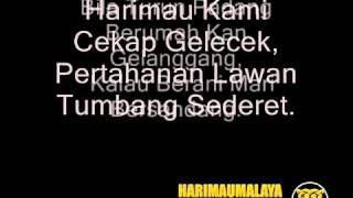 Lagu Semangat Harimau Malaya   Selamanya