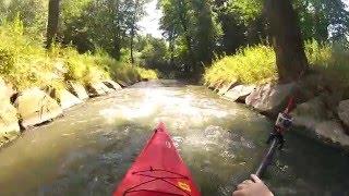 Kajakiem przez Nową Hutę - Spływ Kajakowy Dłubnią