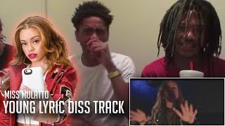 Miss Mulatto Kills Young Lyric (Diss Track) (Reaction Video)