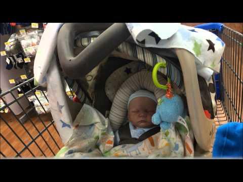 Reborn Baby Shopping Outing Walmart! Spring/Summer Clothes! Come Along!