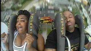 Orlando Slingshot - This ride is boring let me catch a one sleep