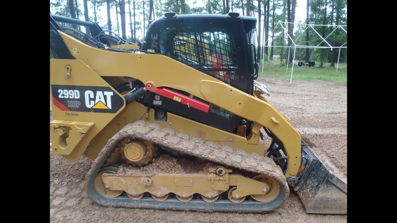 Caterpillar Skid Steer >> Cat 299D Cab Features Walkaround - YouTube