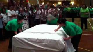 Olympic Bed Making