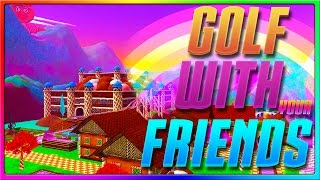 CANDYLAND! NEW MAP on Golf with your Friends!