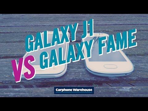 Samsung Galaxy J1 vs Galaxy Fame