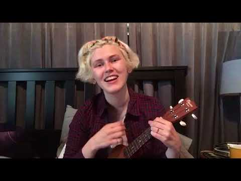 "Garfunkel and Oates - ""Silver Lining"" - Ukulele Cover by Anna Dawahare"