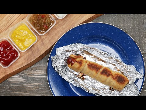 A Hot Dog Recipe That Will Make Camping A Breeze • Tasty