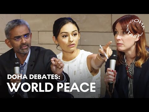 Is Technology the Answer to World Peace Or the Problem? | FULL DEBATE | Doha Debates