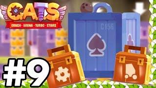 MASSIVE GEMMING SPREE..!!!! | SUPER GIANT CHEST | C.A.T.S | Crash Arena Turbo Stars Gameplay Part 9