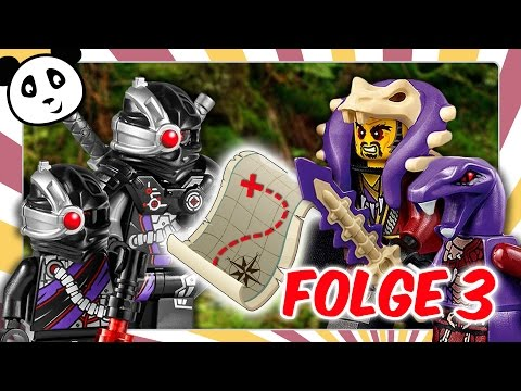 Lego Ninjago deutsch - Folge 3 Jagd nach den goldenen Waffen Kinderserie