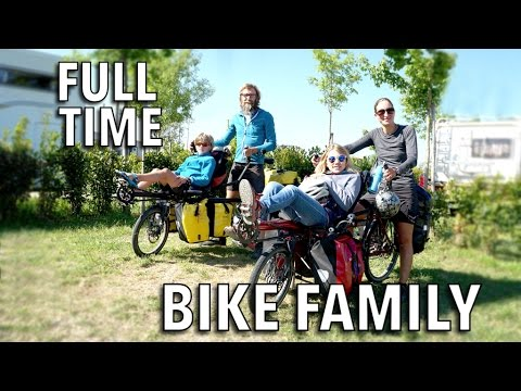 Full-Time Bike Family of 4 | Adventures All Over Europe - Belgian Family
