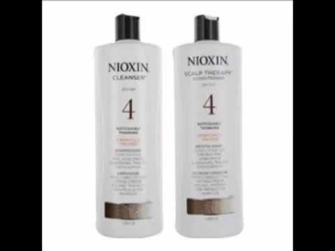 Nioxin System 4 Cleanser & Scalp Therapy for Fine Treated Hair Duo Set, 33 8 oz for each bottle