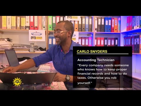Accounting Technician Profile - Carlo Synders - Live Your Passion S2 Ep 20