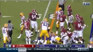 Bama Defense vs LSU (2016)