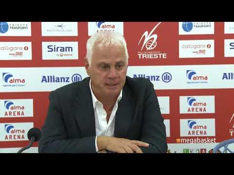 Alma Trieste - Andrea Costa Imola 91 - 83: Eugenio Dalmasson