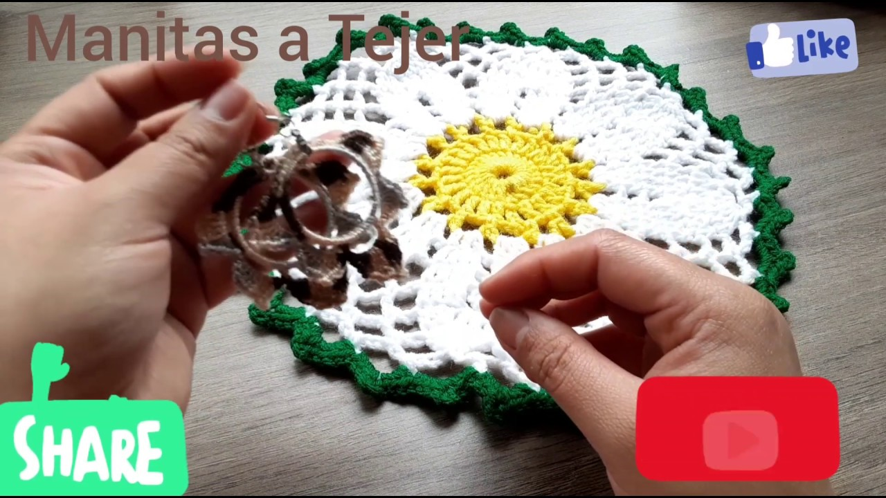 Aretes Faciles a crochet