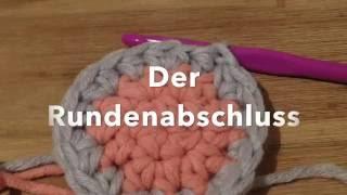 Kreis Mit Festen Maschen Häkeln Anleitung